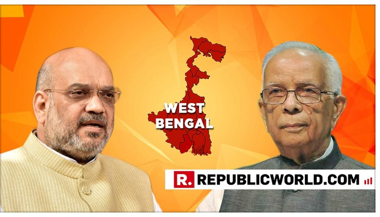 WB GOVERNOR KESHARI NATH TRIPATHI MEETS PM MODI AND HOME MINISTER AMIT SHAH