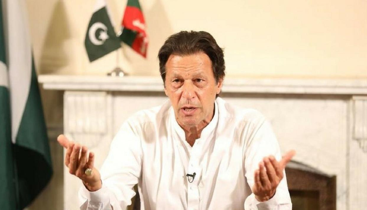 IMRAN KHAN MAKES AMNESTY SCHEME PITCH AMID CRISIS