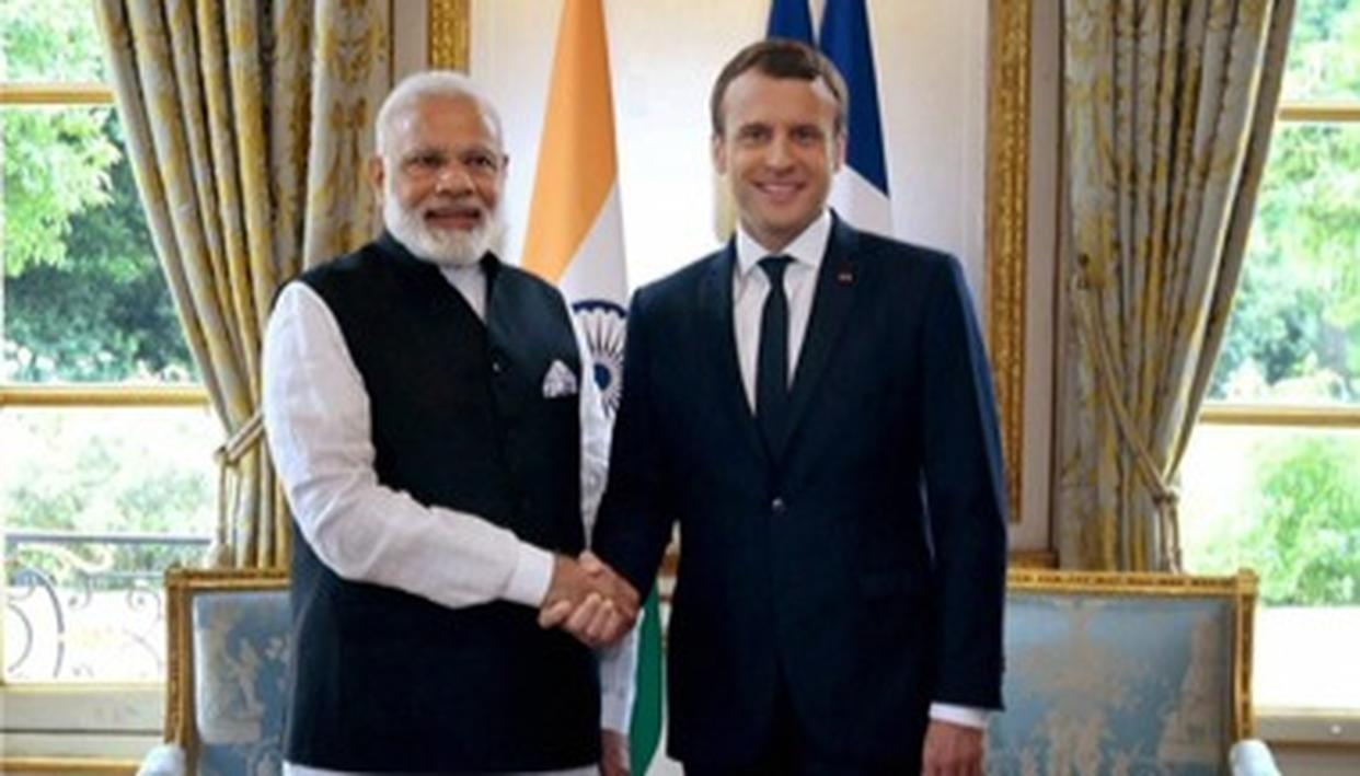 FRENCH PRESIDENT EMMANUEL MACRON INVITES PM MODI TO ATTEND G7 SUMMIT AS A 'SPECIAL INVITEE'