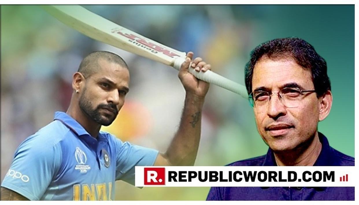 'INDIA HAVE A TOUGH DECISION...': HERE'S HARSHA BHOGLE'S ASSESSMENT OF SHIKHAR DHAWAN BEING RULED OUT FOR 3 WEEKS AT WORLD CUP 2019