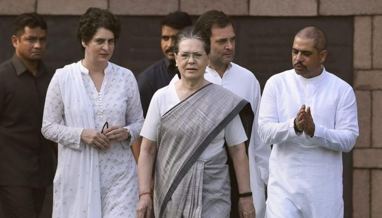 SONIA GANDHI TO VISIT RAE BARELI FOR THE FIRST TIME AFTER POLL DEBACLE