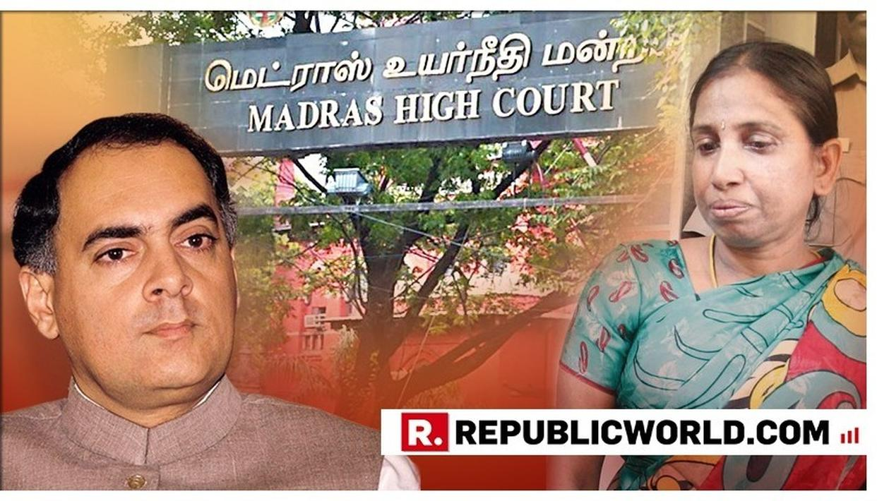 NALINI SRIHARAN'S RIGHT TO APPEAR IN PERSON TO ARGUE PLEA CANNOT BE DENIED: MADRAS HIGH COURT