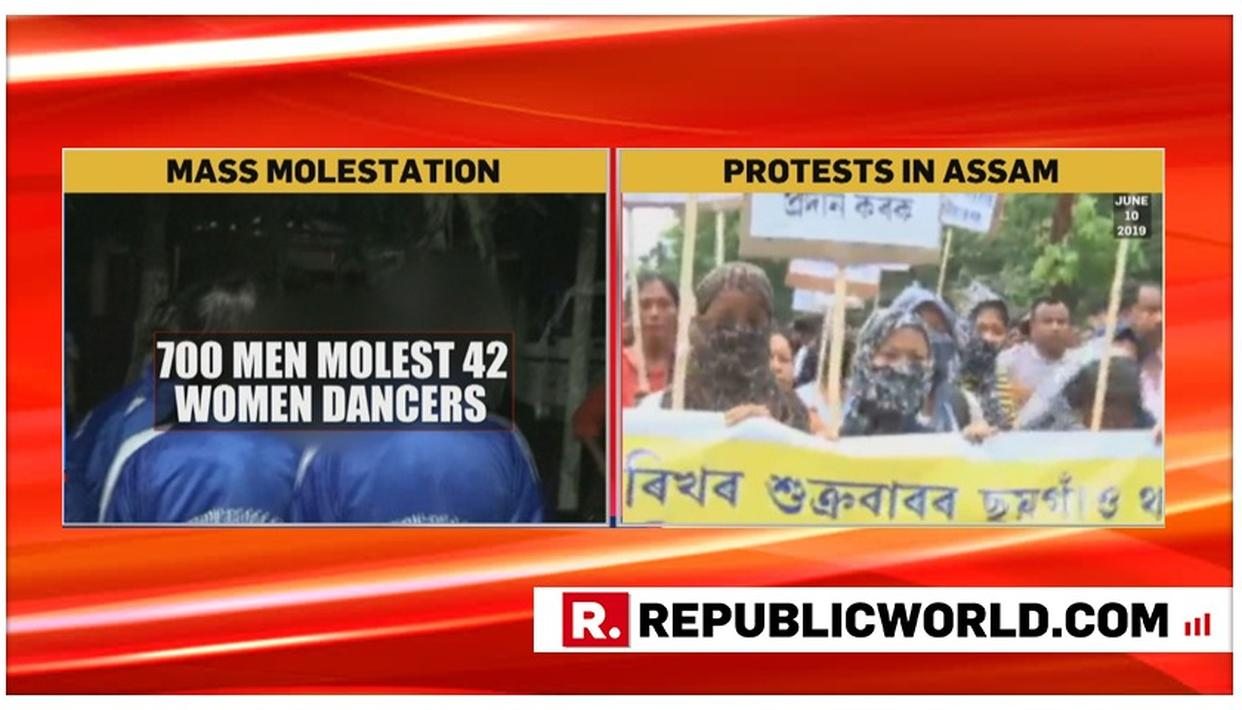 HORRIFIC: TROUPE OF 42 WOMEN DANCERS ATTACKED, MOLESTED AND FORCED TO STRIP BY 700-STRONG MOB OF MEN AT CULTURAL EVENT IN ASSAM, PROTESTS BREAK OUT