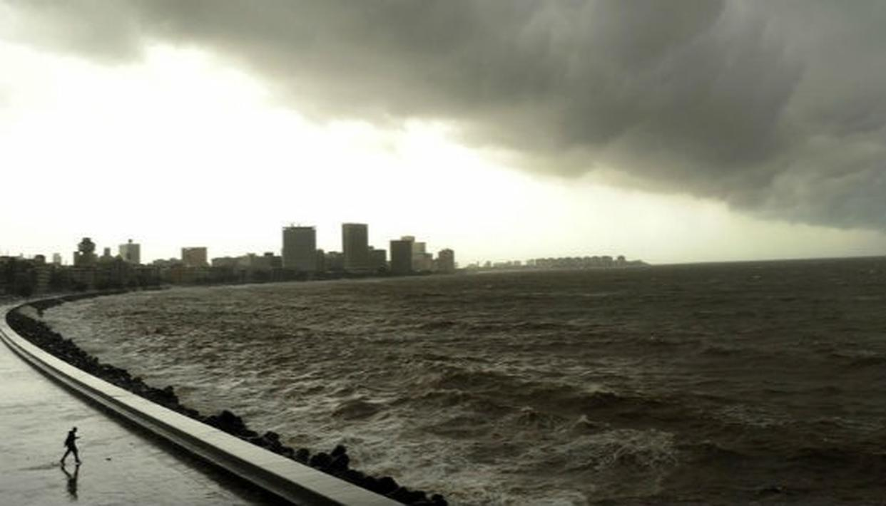 MUMBAI PREPARES FOR CYCLONE VAYU'S EFFECTS