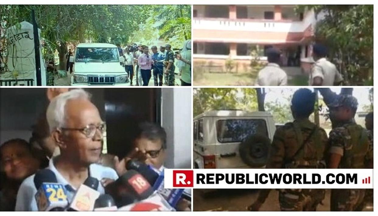PUNE POLICE RAIDS STAN SWAMY'S HOUSE IN RANCHI