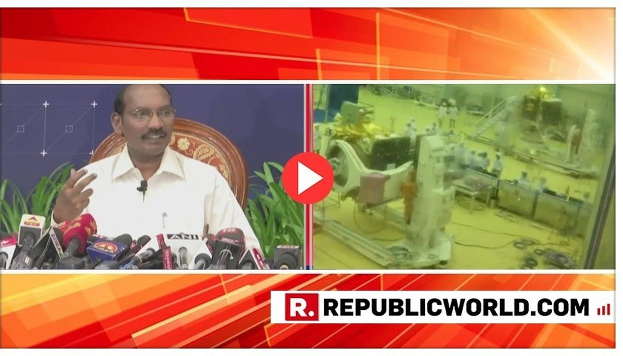WATCH: ISRO TO LAUNCH CHANDRAYAAN-2 ON JULY 15, CHAIRMAN K SIVAN EXPLAINS NITTY-GRITTIES OF HISTORIC MISSION