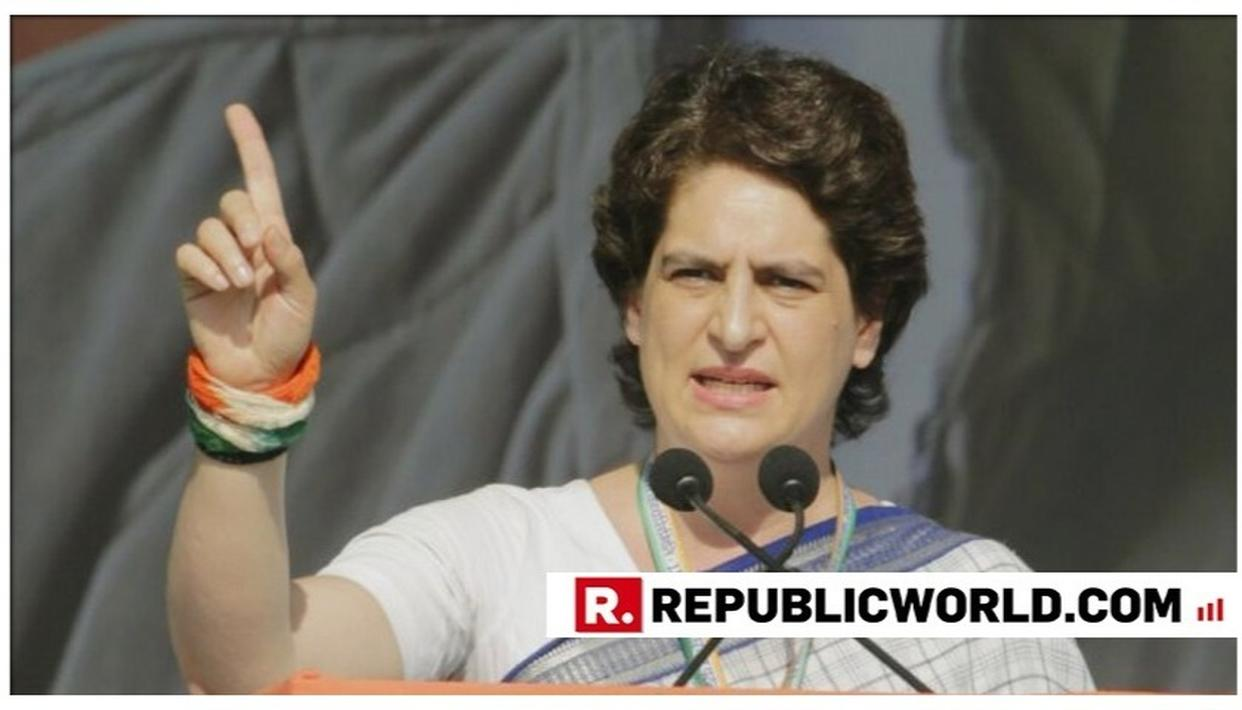 PRIYANKA GANDHI REPRIMANDS CONGRESS WORKERS FOR NOT GIVING THEIR BEST IN LOK SABHA ELECTIONS