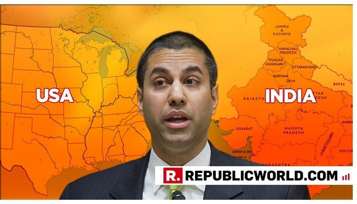 AJIT PAI'S US-INDIA PARALLEL FOR UNIVERSAL INTERNET ACCESS