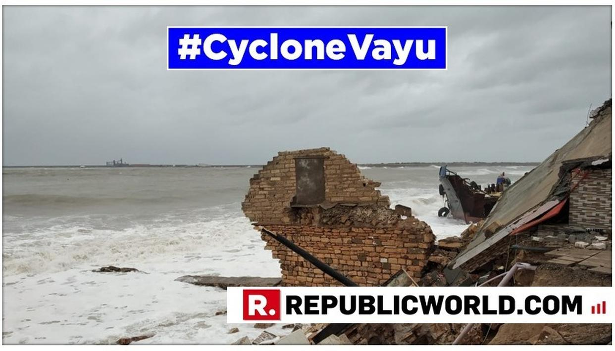 CYCLONE VAYU UPDATE: EYE MAY NOT HIT BUT SYSTEM WILL, SAYS IMD, FORECASTING WIND, RAIN AND STORM, AND IMPLORING AGAINST RELAXING PREPAREDNESS