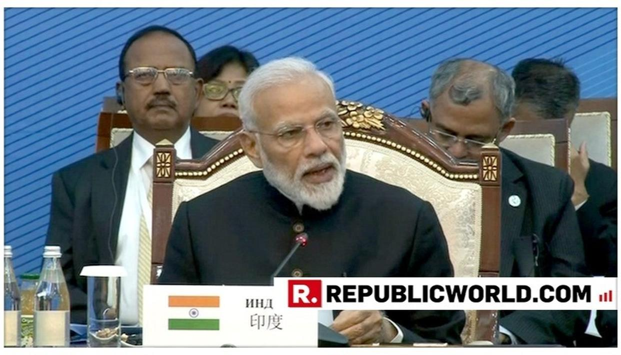WATCH: PM MODI HIGHLIGHTS INDIA'S FOCUS ON CONNECTIVITY AND TRADE, LISTS KEY MULTILATERAL PROJECTS AT SCO SUMMIT