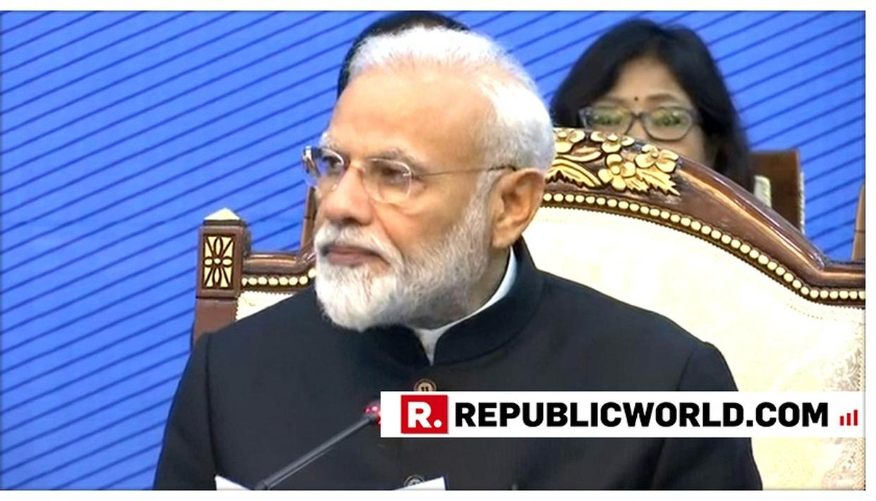 WATCH THIS: PM MODI EXPOSES PAKISTAN IN FRONT OF IMRAN KHAN, TALKS TOUGH ON TERRORISM AT SCO SESSION PLENARY