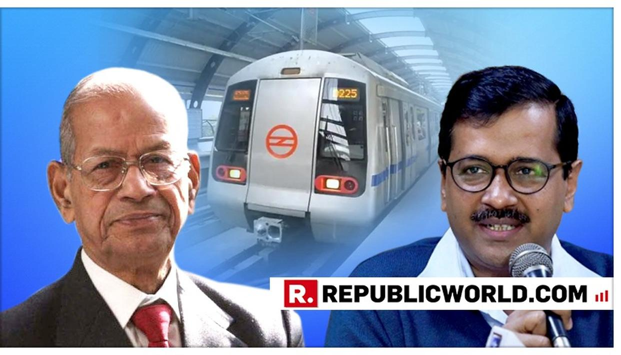 'METRO MAN' E SREEDHARAN REQUESTS PM MODI NOT TO AGREE TO DELHI GOVERNMENT'S FREE TRAVEL SCHEME FOR WOMEN