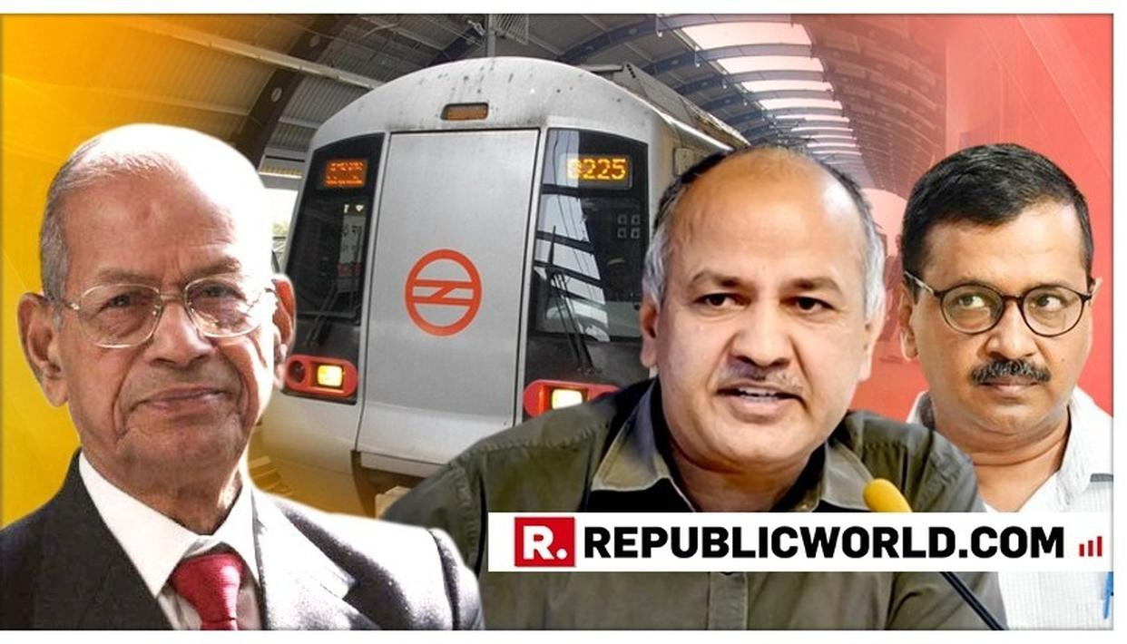 'SURPRISED' BY E SREEDHARAN'S OPPOSITION TO DELHI GOVERNMENT'S FREE TRAVEL SCHEME FOR WOMEN: MANISH SISODIA