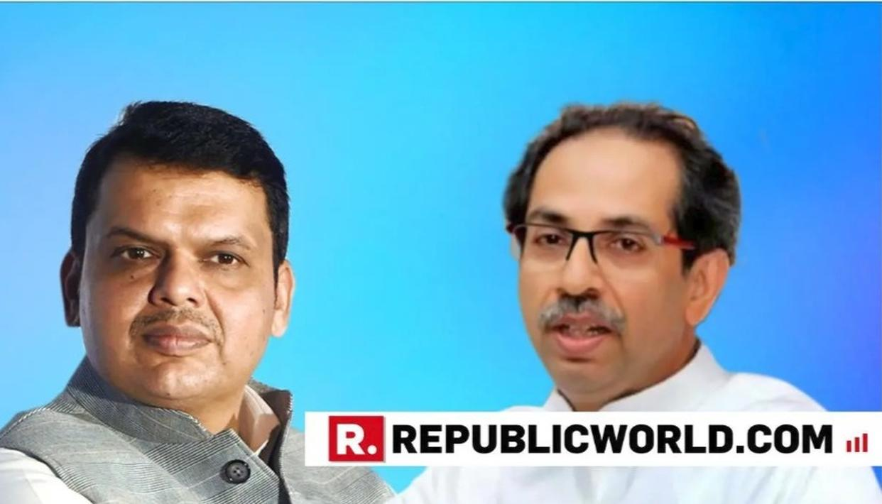 DEVENDRA FADNAVIS, UDDHAV THACKERAY MEET TO TALK STATE CABINET EXPANSION