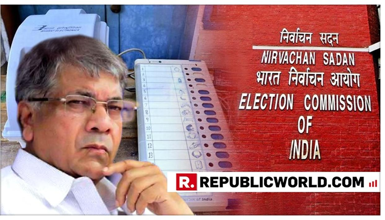 PRAKASH AMBEDKAR'S VBA TO FILE PIL AGAINST EC AND EVMS