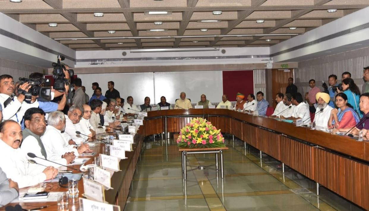 OPPOSITION DEMANDS DEBATE ON UNEMPLOYMENT, FARMER DISTRESS IN BUDGET SESSION AT ALL-PARTY MEET CHAIRED BY PM MODI