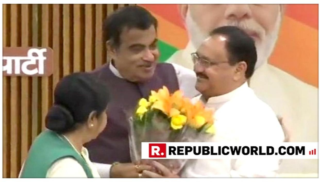 NITIN GADKARI STATES EXPECTATIONS FROM JP NADDA'S APPOINTMENT AS BJP WORKING PRESIDENT, HERE'S WHAT HE SAID