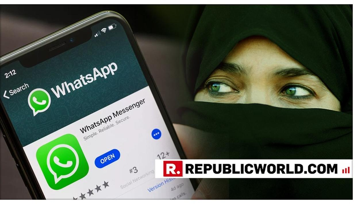 GUJARAT MAN BOOKED FOR GIVING TRIPLE TALAQ TO WIFE ON WHATSAPP