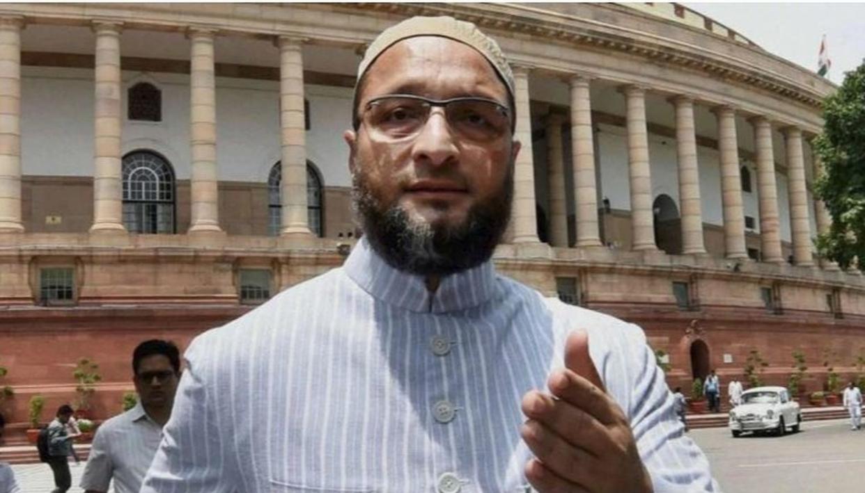 VIDEO: ओवैसी की शपथ के वक्त लगे 'जय श्रीराम के नारे, AIMIM चीफ ने दिया 'जय भीम...अल्लाह-ओ-अकबर' से जवाब