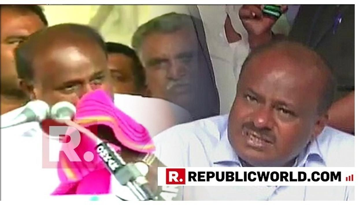 "WATCH: ""I CANNOT TELL YOU PROBLEMS THAT I FACE EVERY DAY AS CM,"" SAYS KARNATAKA CM KUMARASWAMY BREAKING DOWN AGAIN, EXPRESSING HELPLESSNESS AT SHAKY COALITION"