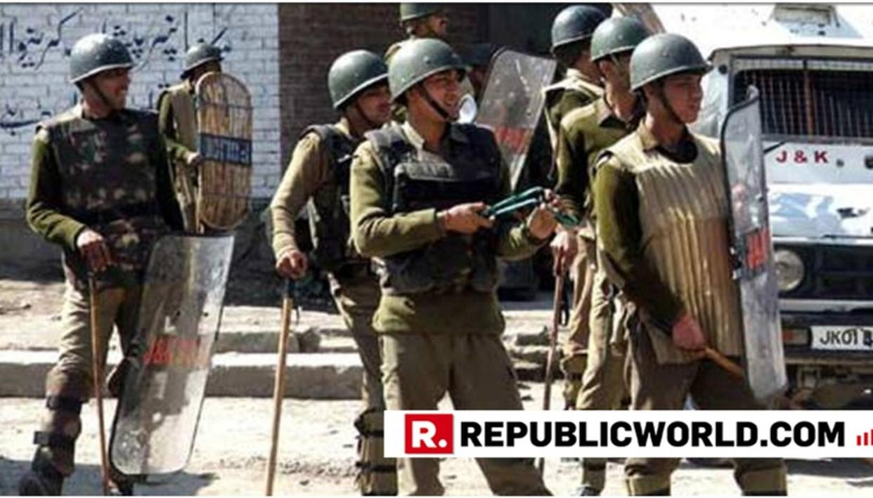 TERRORISTS LOB GRENADE AT A POLICE POST IN J&K'S PULWAMA DISTRICT, CIVILIANS REPORTEDLY INJURED
