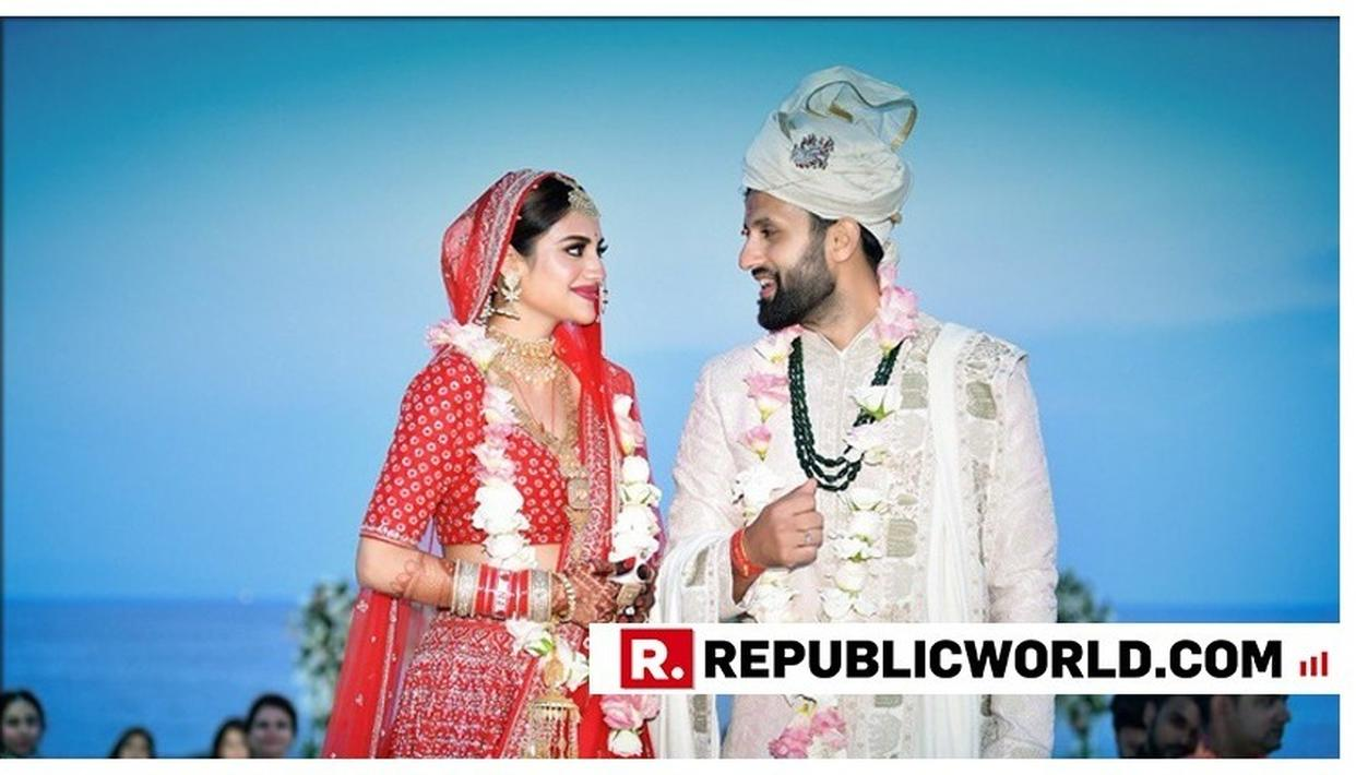 FIRST TIME MP NUSRAT JAHAN RUHI TIES THE KNOT WITH NIKHIL JAIN IN TURKEY, MISSES TAKING THE OATH