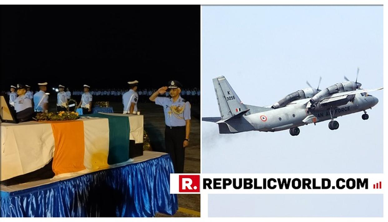 THE LAST SALUTE: IAF BIDS ADIEU TO THE 13 FALLEN AIRFORCE WARRIORS WHO WERE ABOARD THE AN-32 AIRCRAFT AT ASSAM JORHAT AIRBASE