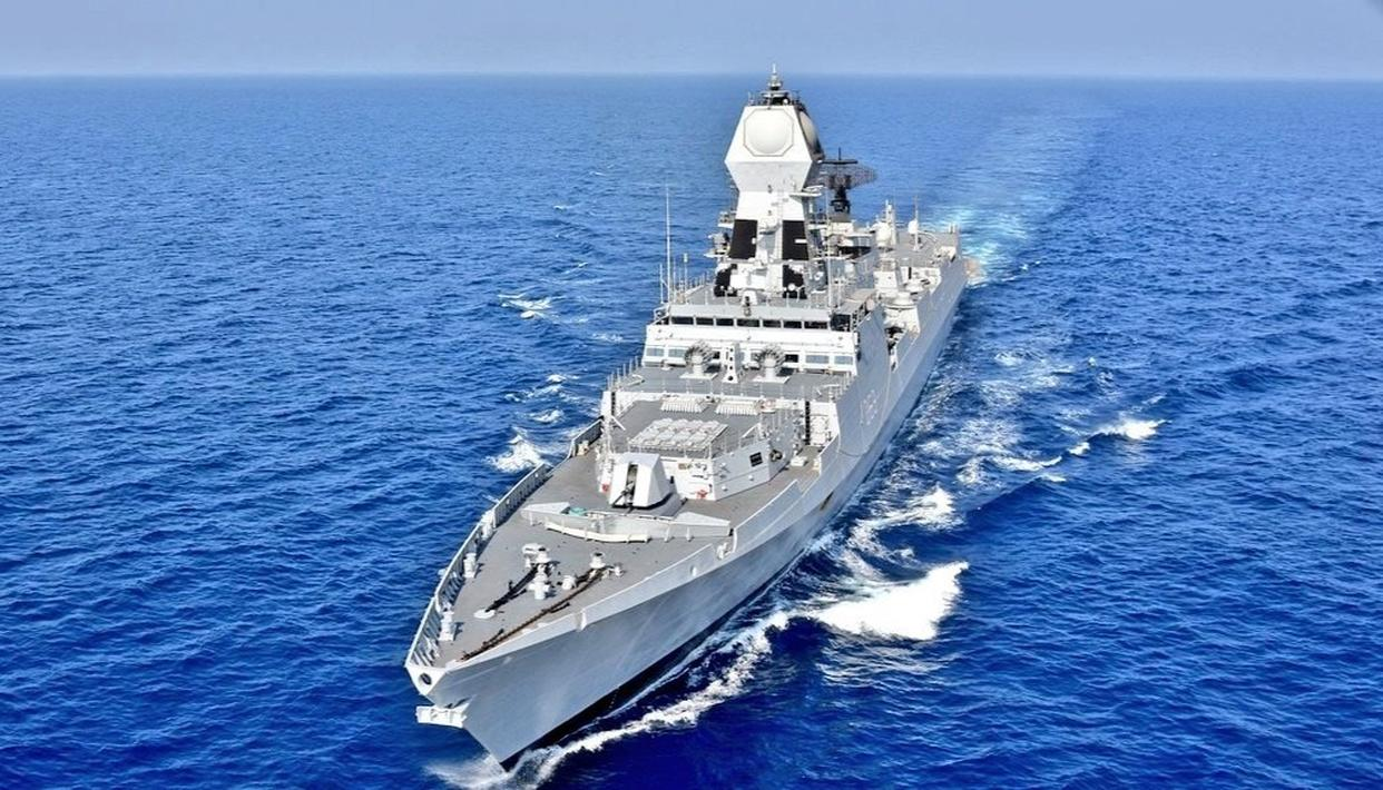 INDIAN NAVY EXECUTES 'OPERATION SANKALP', DEPLOYS TWO WARSHIPS TO ENSURE INDIAN VESSELS' SAFETY AMID GULF TENSION