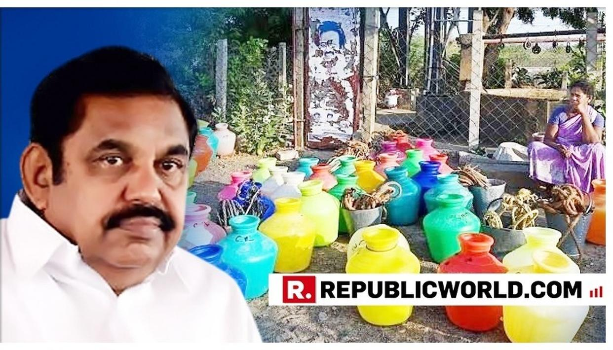 TAMIL NADU CM EDAPPADI PALANISWAMI HOLDS HIGH LEVEL MEETING AMID ACUTE WATER CRISIS IN THE STATE. DETAILS HERE