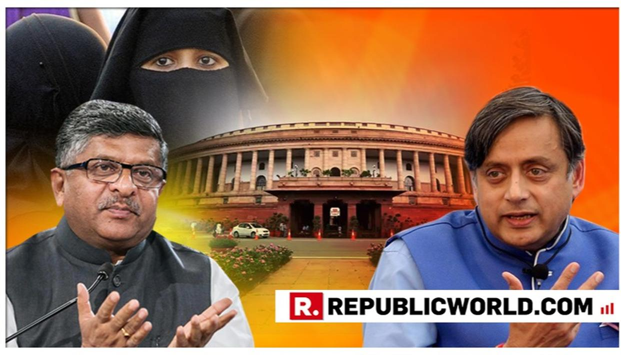 MAJOR FURORE BREAKS OUT AFTER TRIPLE TALAQ BILL TABLED IN 17TH LOK SABHA; CONGRESS OPPOSES LEGISLATION