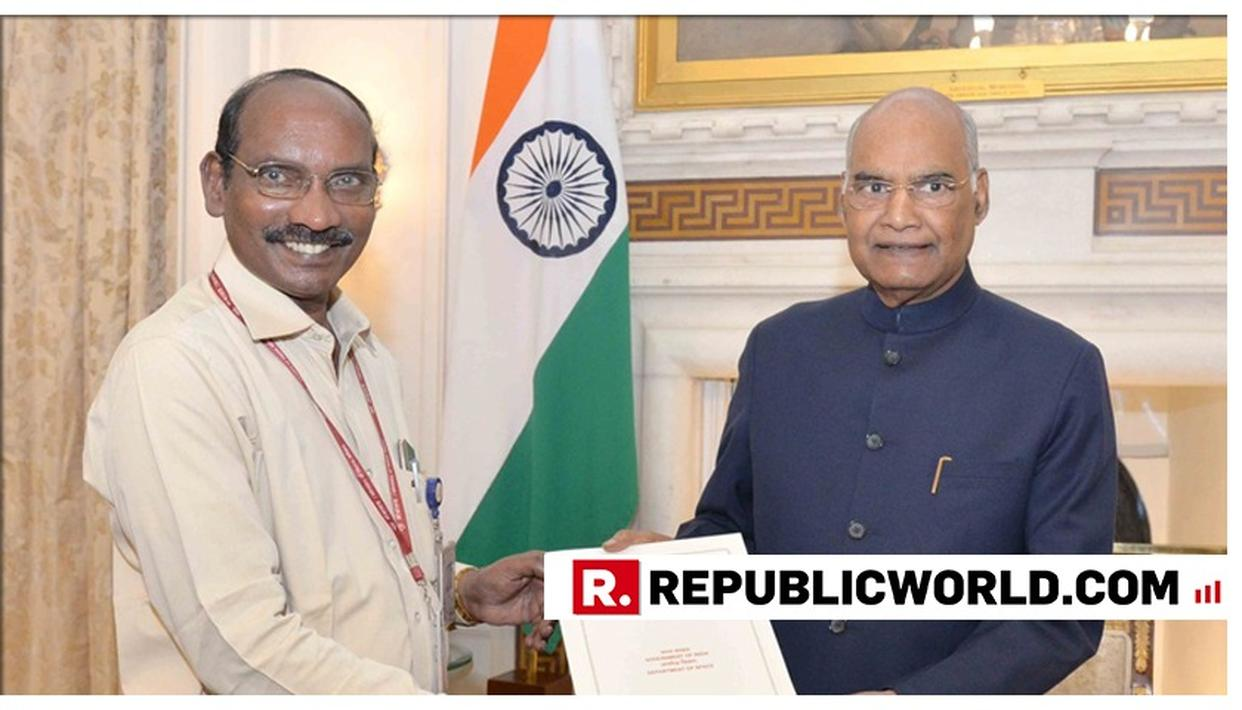 ISRO CHAIRMAN K SIVAN BRIEFS PRESIDENT KOVIND ABOUT UPCOMING MISSION CHANDRAYAAN 2. DETAILS HERE