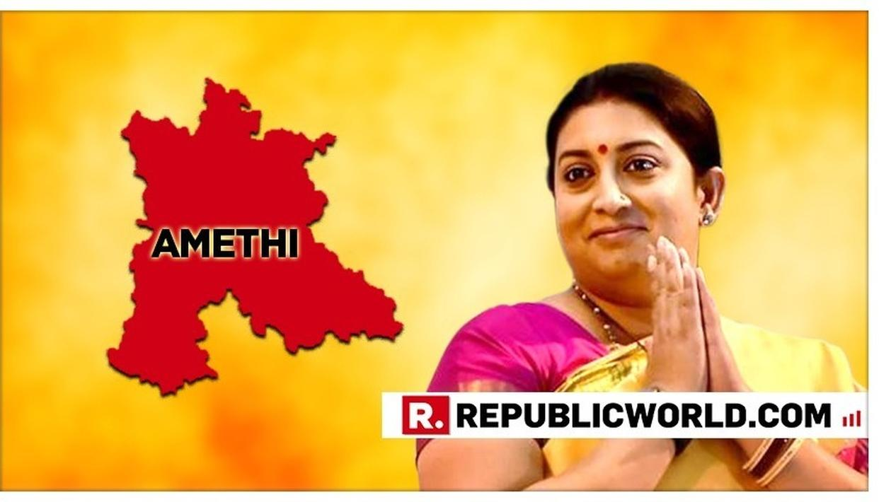 SMRITI IRANI VISITS AMETHI TO HOLD A THANKSGIVING RALLY AFTER HISTORIC WIN IN 2019 ELECTIONS