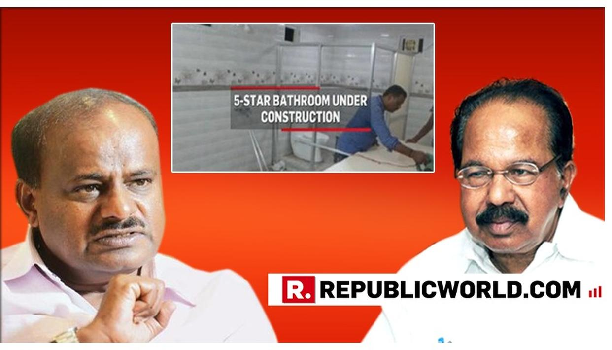 WATCH: ALLY CONGRESS SLAMS KARNATAKA CM HD KUMARASWAMY OVER '5-STAR VILLAGE' STAY, SAYS 'CONCENTRATE ON GOVERNMENT'