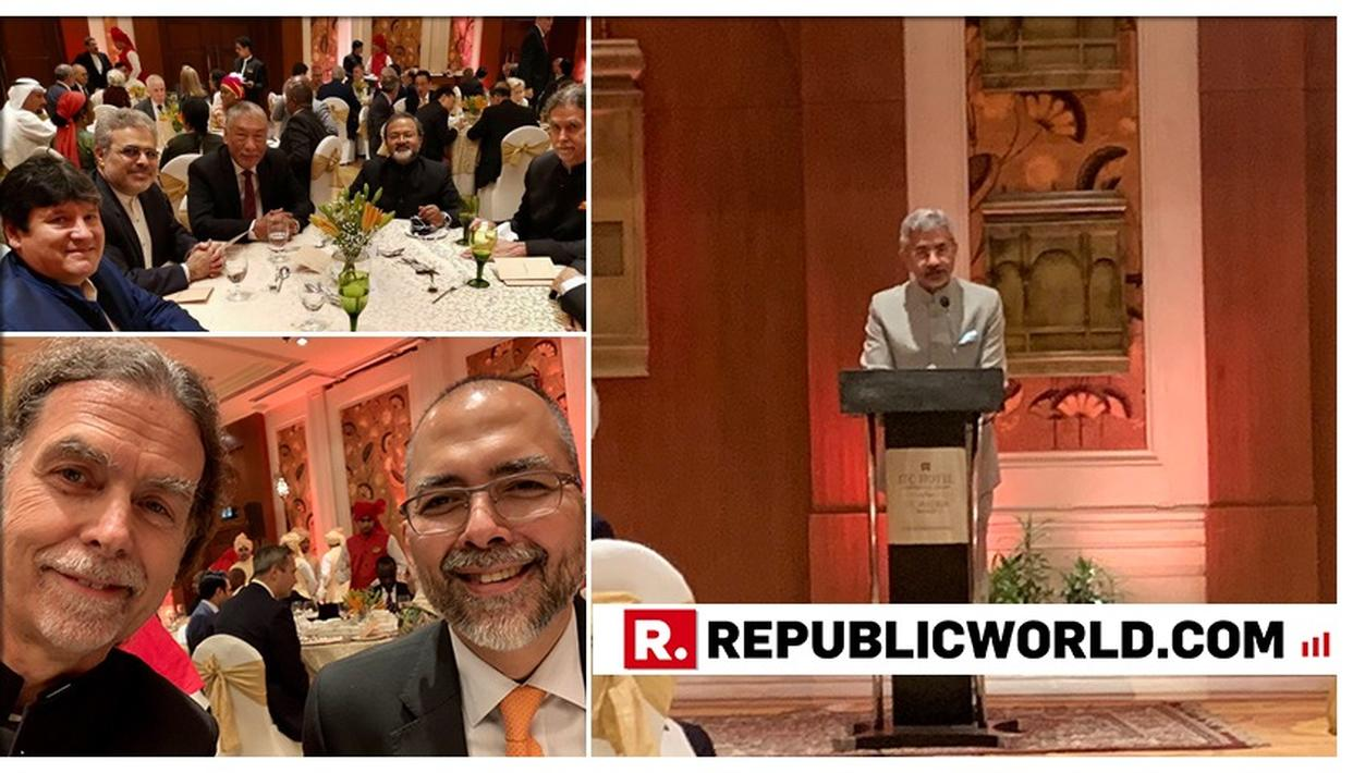 EXTERNAL AFFAIRS MINISTER S JAISHANKAR PUTS FORTH 5 POINTS DURING DIPLOMATIC DINNER, HIGHLIGHTS INDIA'S ROLE IN GLOBAL ARENA