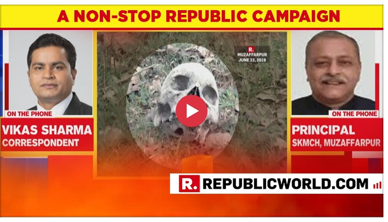 WATCH: SKMC PRINCIPAL RUBBISHES 'SKELETAL BELONGS TO ANIMALS' CLAIM MADE BY MUZAFFARPUR DM, SAYS 'REPORT HAS BEEN SENT TO BIHAR GOVERNMENT'