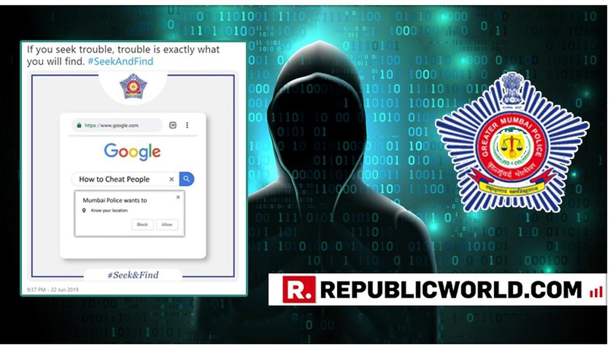 'TROUBLESEEKERS' WARNED: MUMBAI POLICE ISSUES A 'TIT-FOR-TAT' WARNING TO FRAUDSTERS, NETIZENS APPRECIATE THE DEPARTMENT'S 'ON-POINT' SOCIAL MEDIA GAME