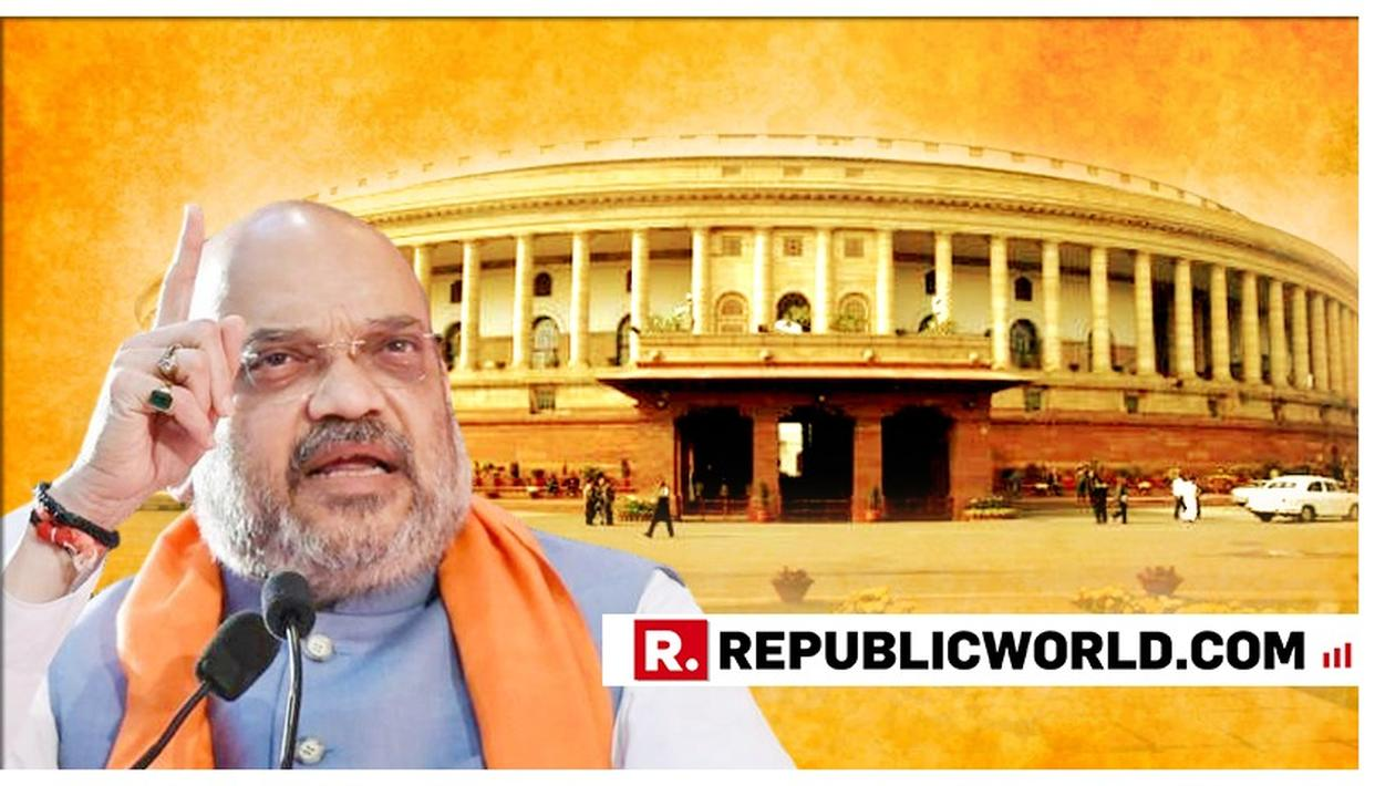 HOME MINISTER AMIT SHAH TO TABLE JAMMU AND KASHMIR RESERVATION AMENDMENT BILL IN 17TH LOK SABHA, HIS FIRST BILL IN PARLIAMENT
