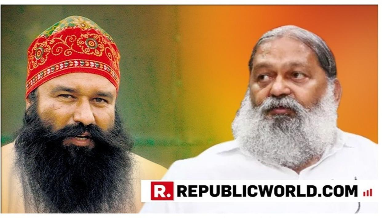 """WATCH: """"IT IS HIS RIGHT AS PER THE LAWS,"""" SAYS HARYANA MINISTER ANIL VIJ BATTING FOR GURMEET RAM RAHIM'S PAROLE, ADDING IT HAS NOTHING TO DO WITH ASSEMBLY POLLS"""
