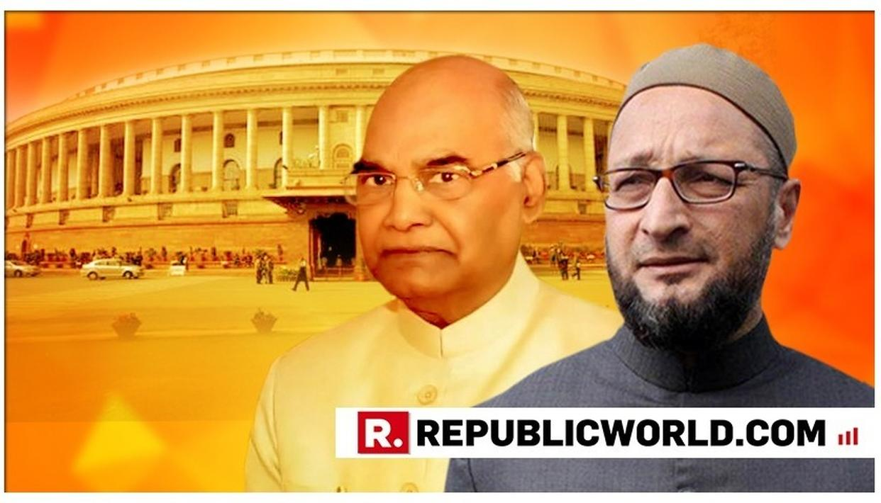"DISGRACEFUL: ""WHO ARE THOSE 'JAAHIL' PEOPLE WHO WRITE THE PRESIDENT'S SPEECH?"", ASKS ASADUDDIN OWAISI IN THE PARLIAMENT"