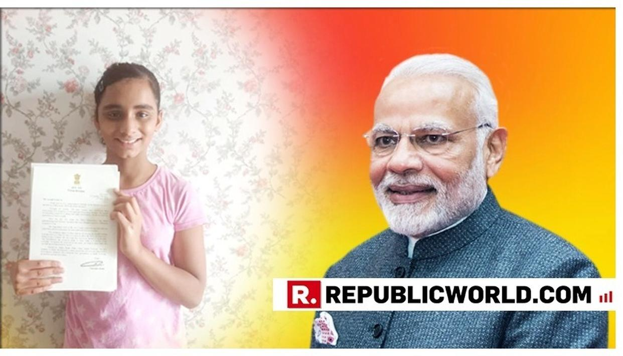 PRIME MINISTER NARENDRA MODI'S BEAUTIFUL REPLY TO AN 11-YEAR-OLD'S CONGRATULATORY LETTER IS WINNING HEARTS ONLINE