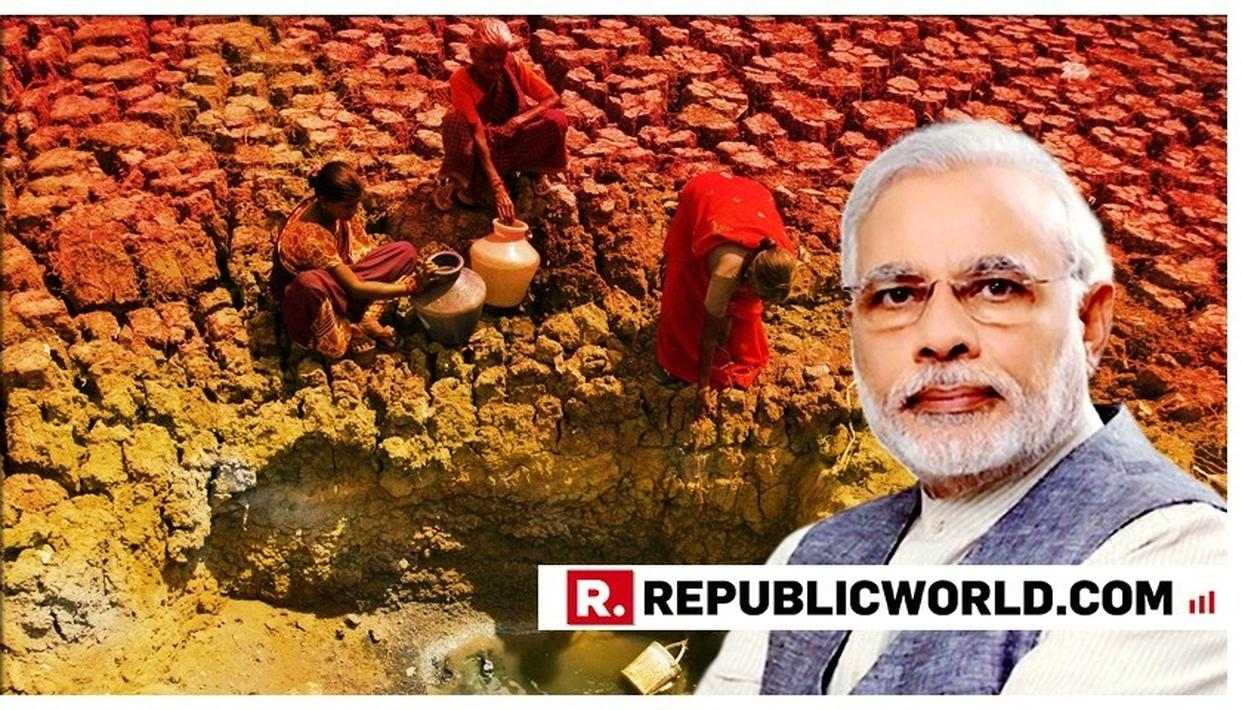 WATCH: 'MAN SUFFERS MORE FROM THE LACK OF WATER THAN FROM THE ACCESS TO IT'  SAYS PM MODI