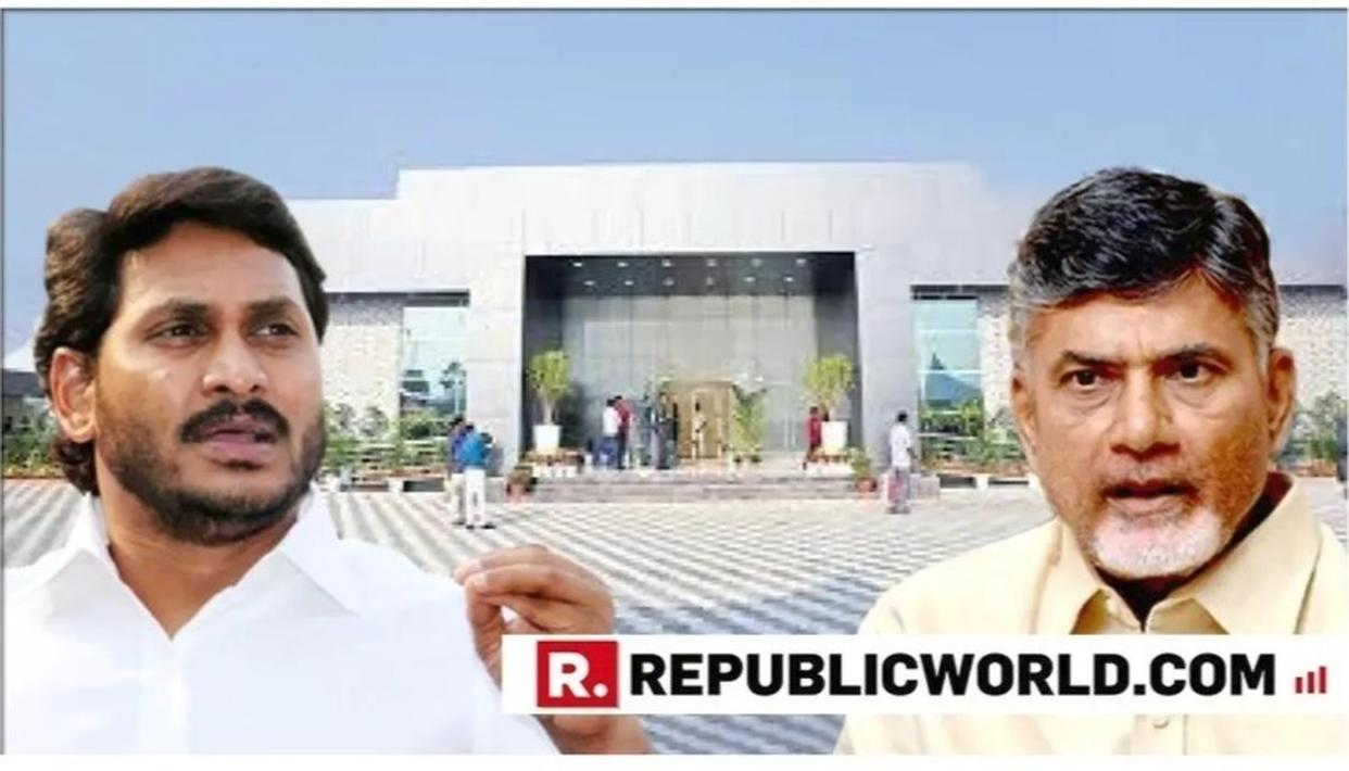 WATCH: 'PRAJA VEDIKA' BUILT BY CHANDRABABU NAIDU GOVT BROUGHT DOWN TO DUST ON ORDERS OF SUCCESSOR CM JAGAN MOHAN REDDY