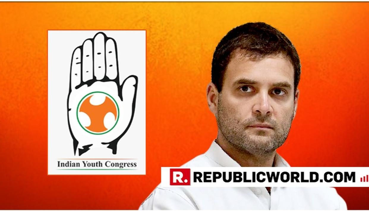 YOUTH CONGRESS WORKERS STAGE DEMONSTRATIONS URGING RAHUL GANDHI TO RECONSIDER RESIGNATION