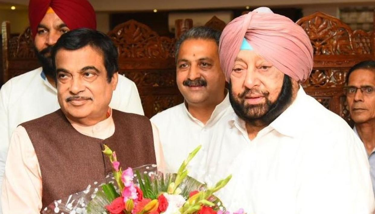 NITIN GADKARI MEETS CAPTAIN AMARINDER SINGH, DISCUSSES ROAD INFRASTRUCTURE PROJECTS. READ HERE