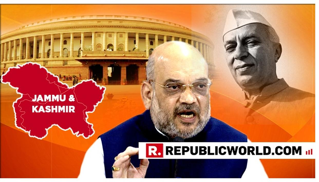 MUST READ: HERE ARE AMIT SHAH'S FIERCEST QUOTES REBUTTING CONGRESS AS LOK SABHA PASSES THE J&K RESERVATION (AMENDMENT) BILL 2019 AFTER A HEATED DEBATE