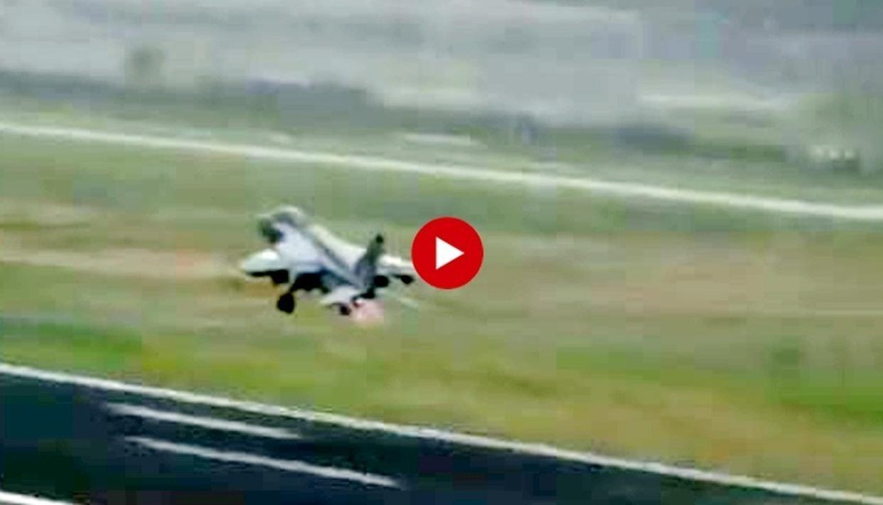 HAIR-RAISING: ENGINE FAILING AFTER A BIRD HIT, WATCH HOW THIS YOUNG IAF PILOT MANAGED TO AVERT MAJOR DISASTER