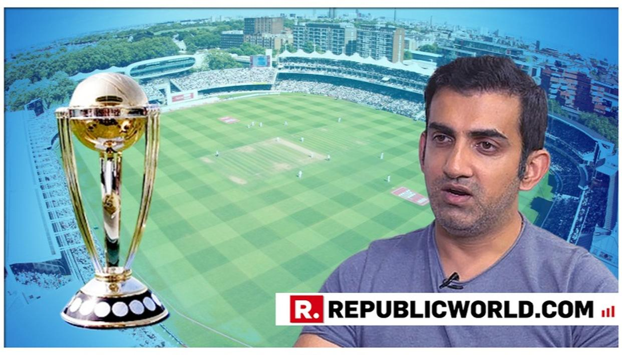 NOW, BJP MP GAUTAM GAMBHIR ENGAGES IN HEATED TWITTER SPAT WITH CONGRESS LEADER OVER HIS COMMENTARY IN CRICKET WORLD CUP