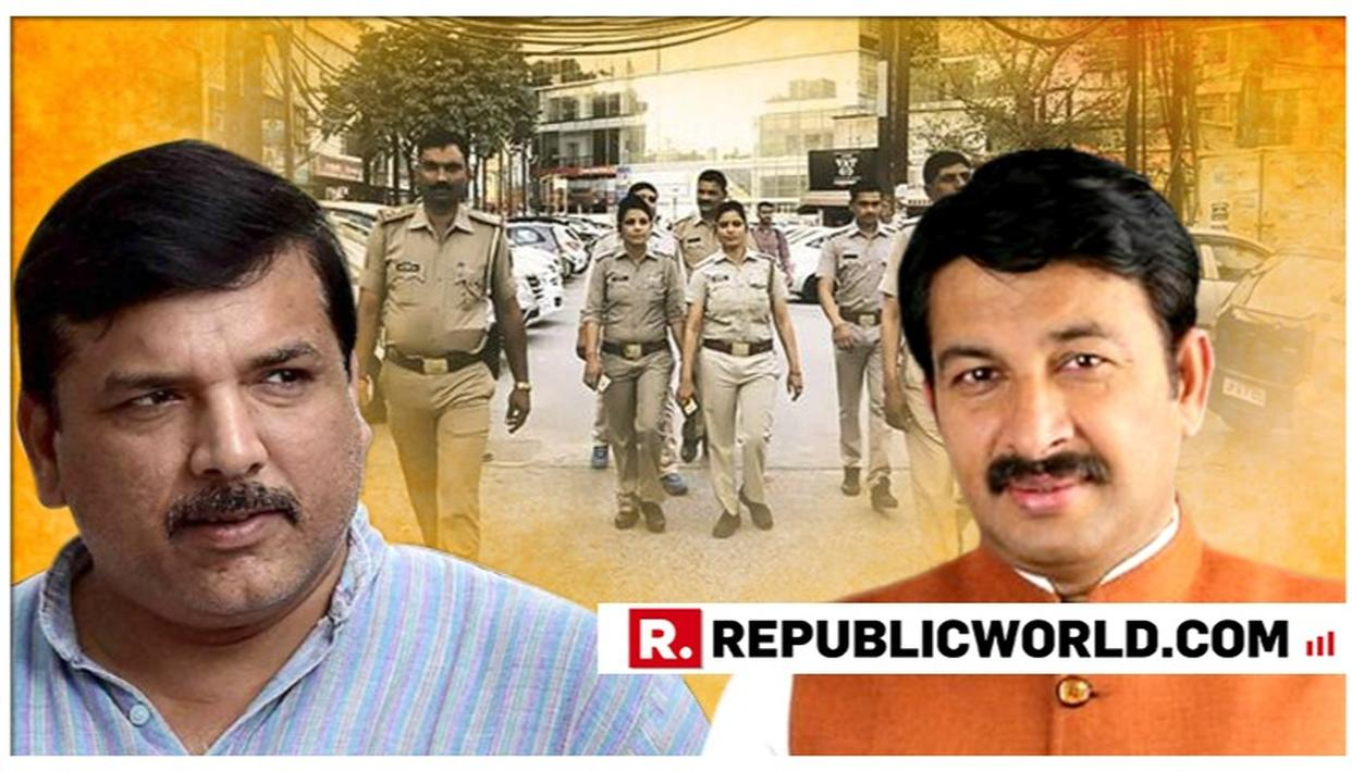 DELHI BJP CHIEF MANOJ TIWARI WANTS ANTI-ROMEO SQUADS IN THE NATIONAL CAPITAL, AAP'S SANJAY SINGH CONTRADICTS