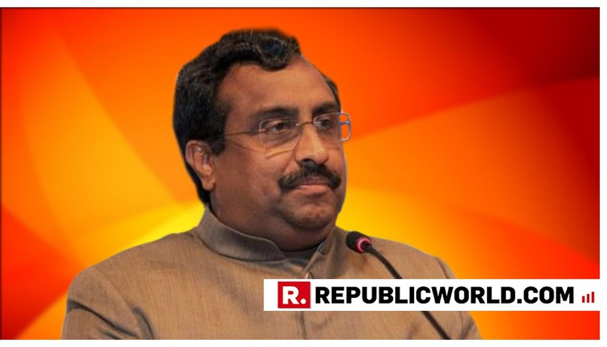 ARTICLE 370 HAS TO GO LOCK, STOCK AND BARREL: BJP'S RAM MADHAV