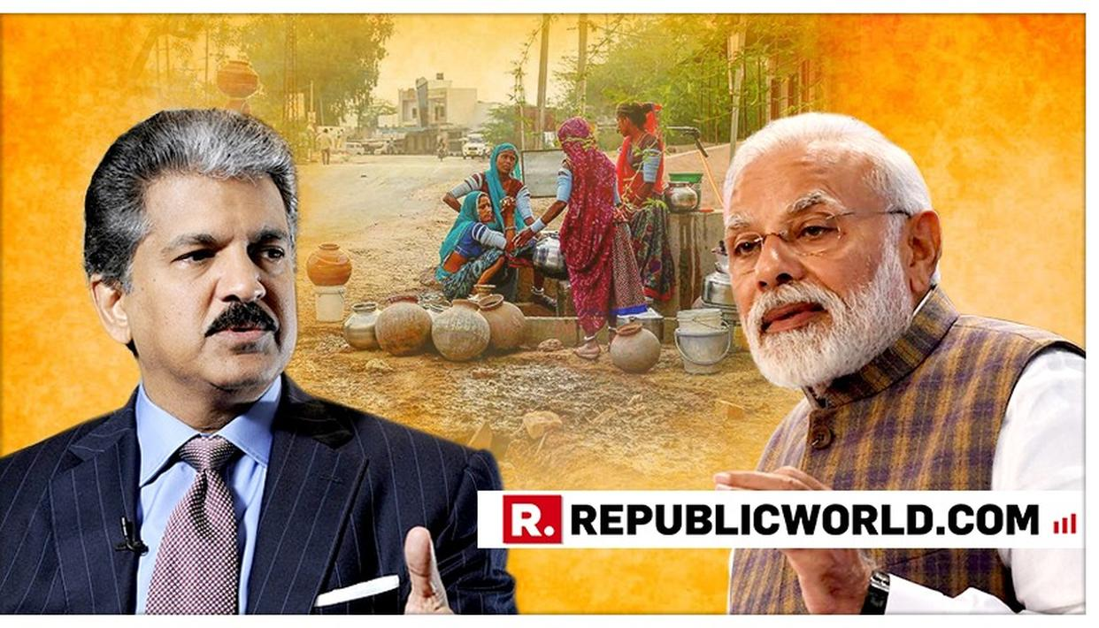 """""""INTERESTING TO SEE.."""", HERE'S WHAT ANAND MAHINDRA HAS TO SAY ON PM MODI'S REQUEST ON WATER CONSERVATION IN HIS MANN KI BAAT ADDRESS"""